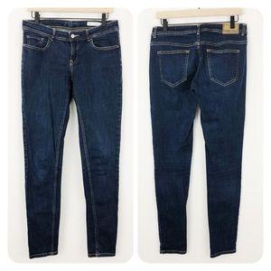 Zara Basic Denim Low Rise Skinny Jeans |E11